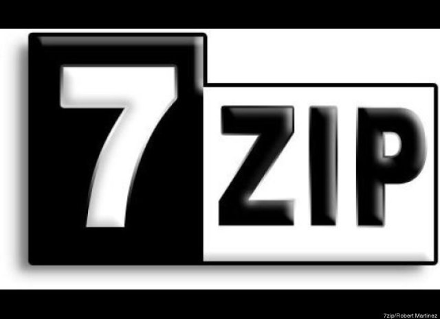 how to create a rar file with 7zip