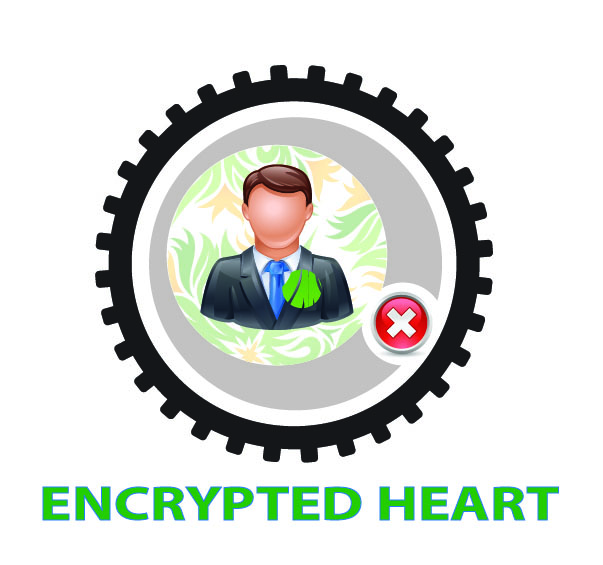 Official Logo of The Encrypted Heart Project