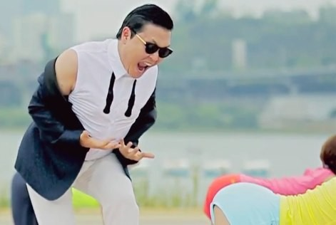 It's the GangNam Style!! You got it?