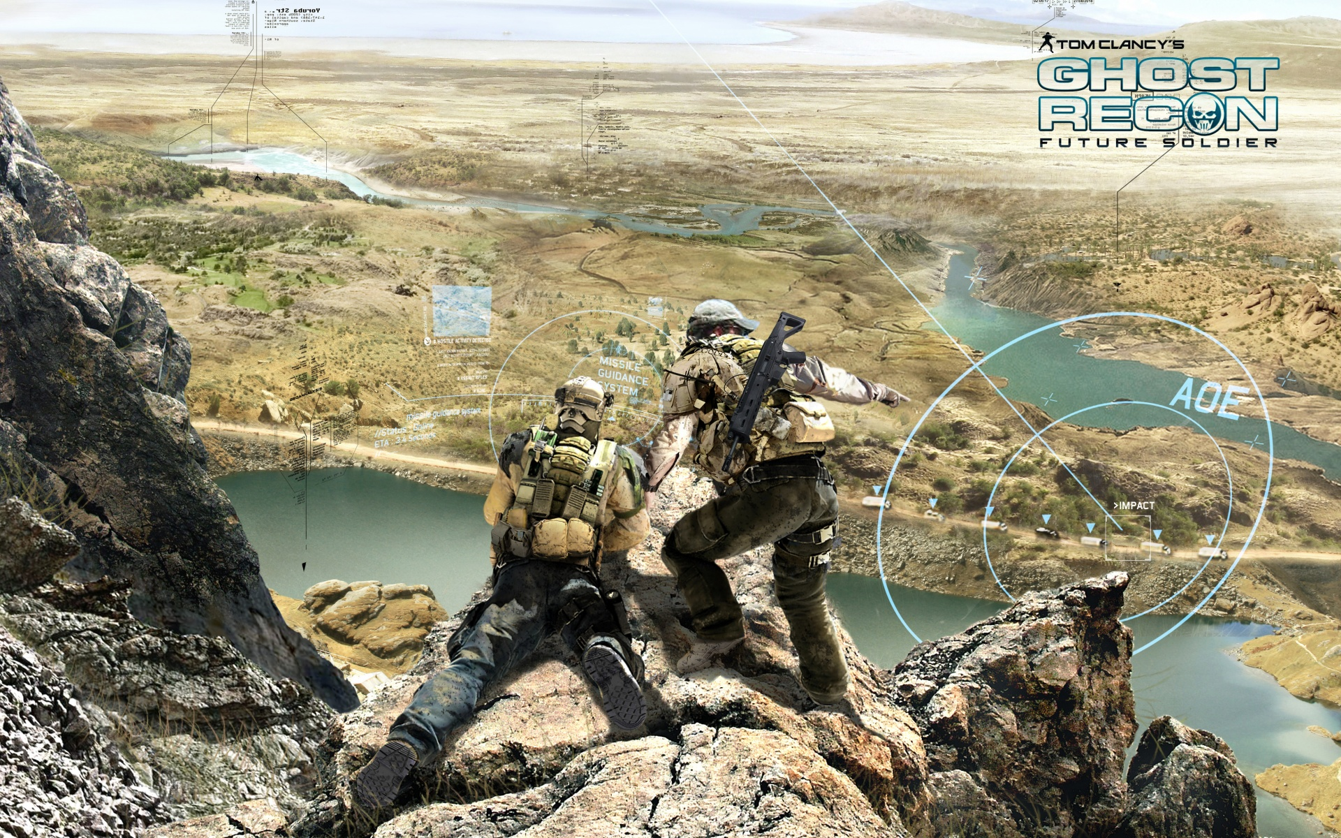 Operation Phish Phry Ghost Recon Future Soldier Game
